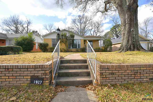 1927 Wiley Avenue, Tyler, TX 75701 (MLS #10090083) :: The Rose City Team