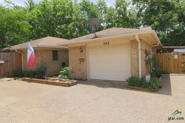 503 Commons Dr., Tyler, TX 75701 (MLS #10097326) :: RE/MAX Professionals - The Burks Team