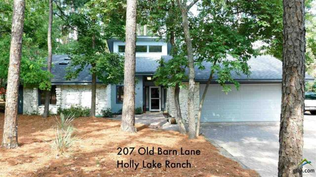 207 Old Barn Lane, Holly Lake Ranch, TX 75765 (MLS #10099111) :: RE/MAX Impact