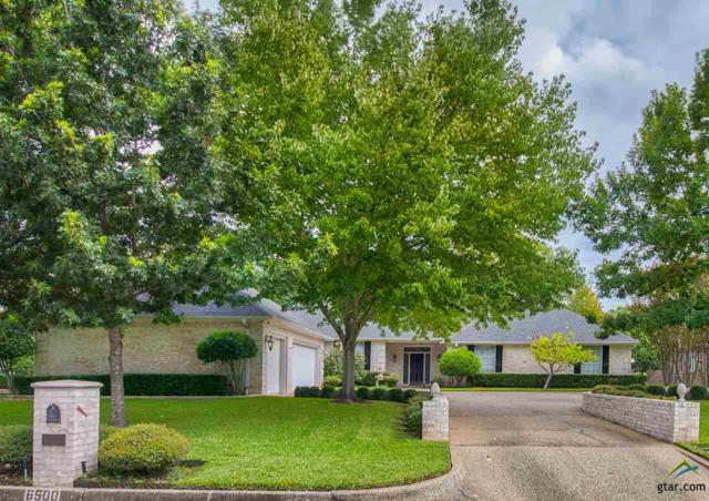 6500 Gleneagles Drive, Tyler, TX 75703 (MLS #10100353) :: The Wampler Wolf Team