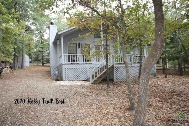 2670 E Holly Trail, Holly Lake Ranch, TX 75765 (MLS #10100799) :: The Wampler Wolf Team