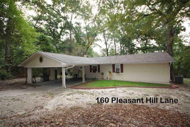160 Pleasant Hill Lane, Holly Lake Ranch, TX 75765 (MLS #10100801) :: The Wampler Wolf Team