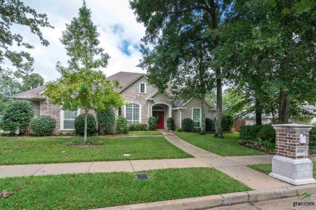 2017 Holly Hill Drive, Tyler, TX 75703 (MLS #10100807) :: The Wampler Wolf Team