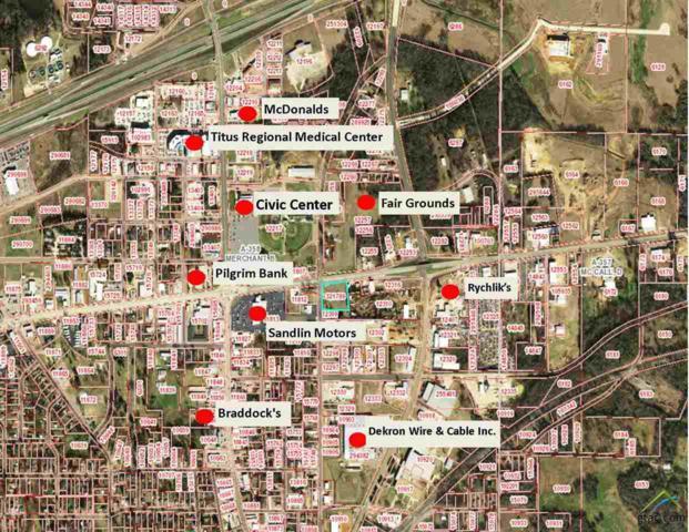 Hwy 67 E 16th Street, Mt Pleasant, TX 75455 (MLS #10101774) :: The Wampler Wolf Team