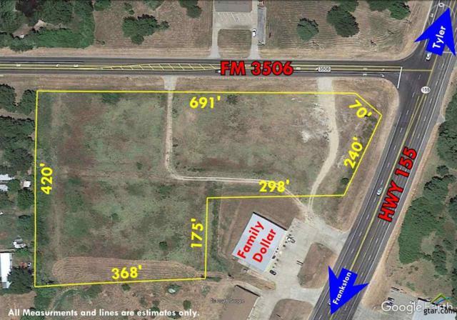 7900 S Hwy 155, Frankston, TX 75763 (MLS #10102565) :: RE/MAX Professionals - The Burks Team