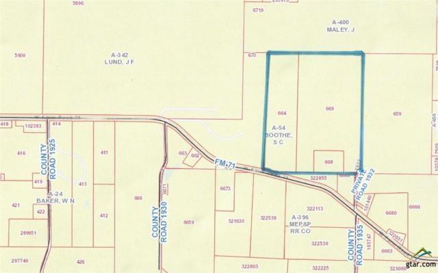 1646 W Fm 71, Mt Pleasant, TX 75455 (MLS #10105519) :: RE/MAX Professionals - The Burks Team