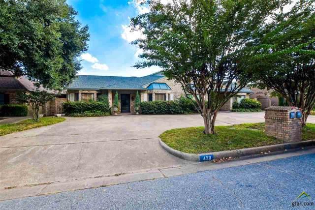 420 Woodland Hills Dr, Tyler, TX 75701 (MLS #10114566) :: RE/MAX Impact