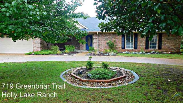 719 Greenbriar Trail, Holly Lake Ranch, TX 75765 (MLS #10114783) :: The Wampler Wolf Team