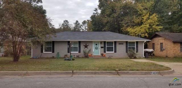 2403 Sampson, Tyler, TX 75701 (MLS #10115473) :: RE/MAX Impact