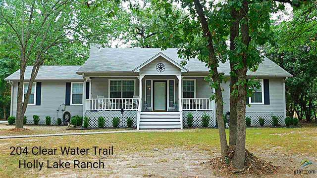 204 Clear Water Trl, Holly Lake Ranch, TX 75765 (MLS #10126399) :: The Wampler Wolf Team