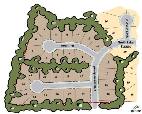 Lot 18 Forest Ridge, Tyler, TX 75703 (MLS #10127079) :: RE/MAX Professionals - The Burks Team