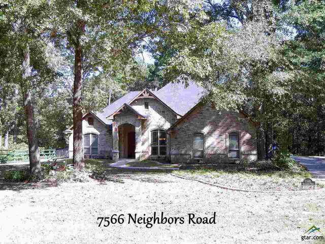 7566 Neighbors Road, Tyler, TX 75703 (MLS #10127751) :: The Wampler Wolf Team