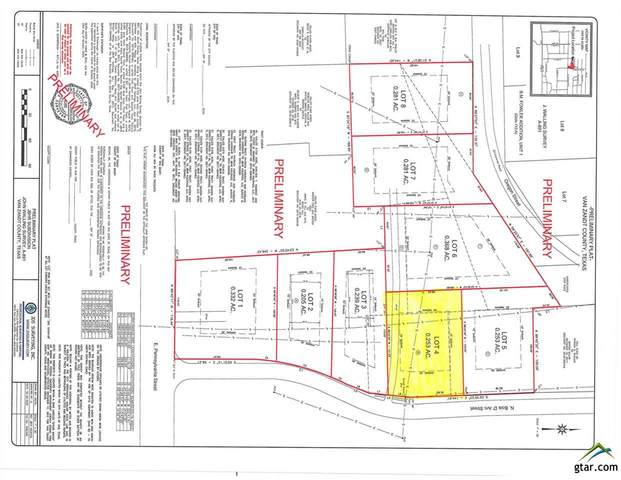 Lot 4 Bois D Arc, Van, TX 75790 (MLS #10128490) :: The Wampler Wolf Team