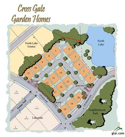 Lot 4 Cross Gate Way, Tyler, TX 75703 (MLS #10129759) :: Griffin Real Estate Group