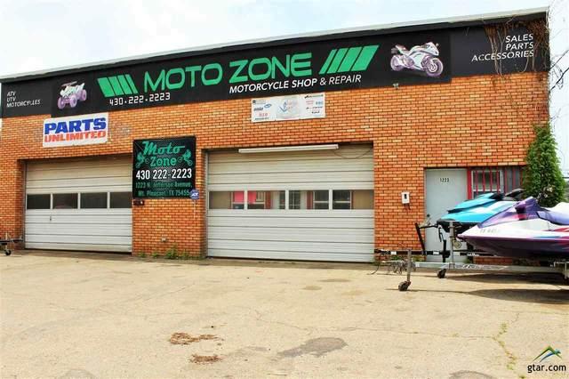 1223 N Jefferson, Mt Pleasant, TX 75455 (MLS #10130263) :: Griffin Real Estate Group