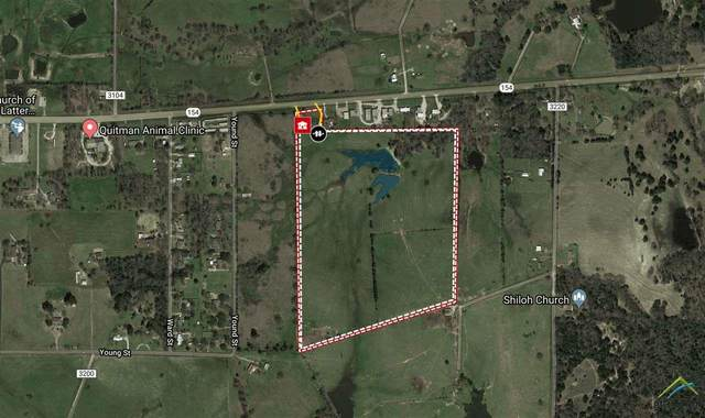 1300 Hwy 154, Quitman, TX 75783 (MLS #10131901) :: The Wampler Wolf Team