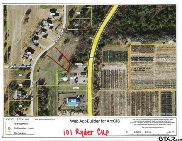 101 Ryder Cup Trail, Hideaway, TX 75771 (MLS #10134099) :: The Edwards Team