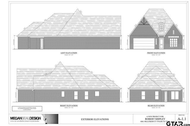 6061 Hillcross Cv, Tyler, TX 75703 (MLS #10134483) :: Wood Real Estate Group