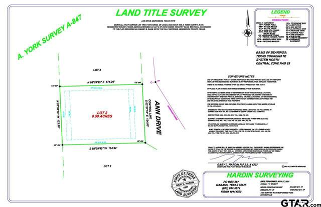 Lots 2-3 Ann Drive, Murchison, TX 75778 (MLS #10136740) :: RE/MAX Professionals - The Burks Team