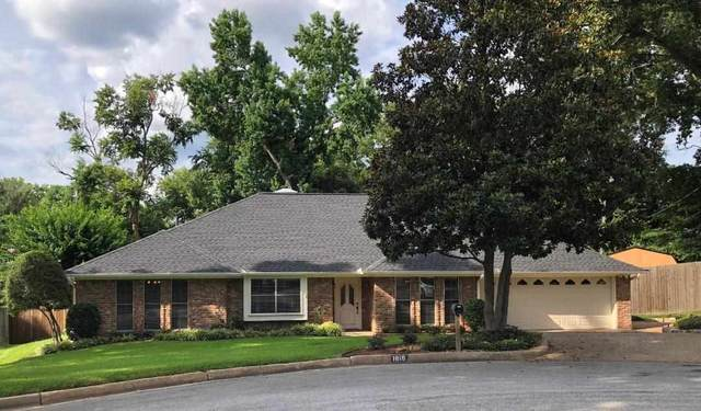 1816 Chipco Dr, Tyler, TX 75703 (MLS #10136960) :: RE/MAX Professionals - The Burks Team