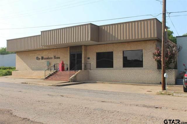 105 E Locust, Winnsboro, TX 75494 (MLS #10137801) :: Griffin Real Estate Group