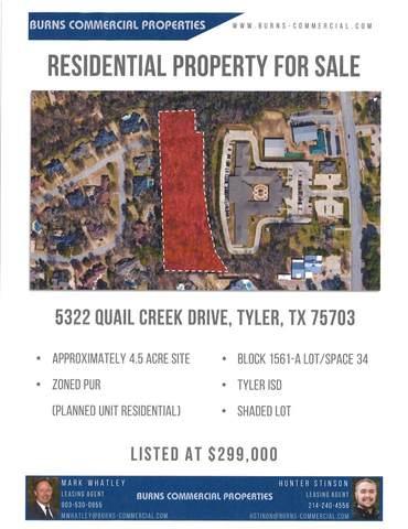 5322 Quail Creek Drive, Tyler, TX 75703 (MLS #10138319) :: RE/MAX Professionals - The Burks Team