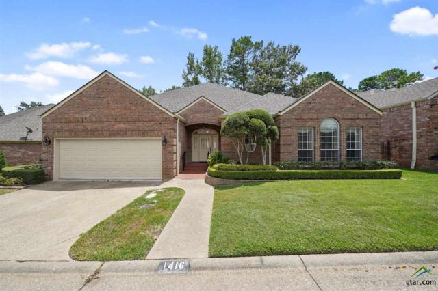 1416 Hollytree Place, Tyler, TX 75703 (MLS #10112152) :: The Wampler Wolf Team