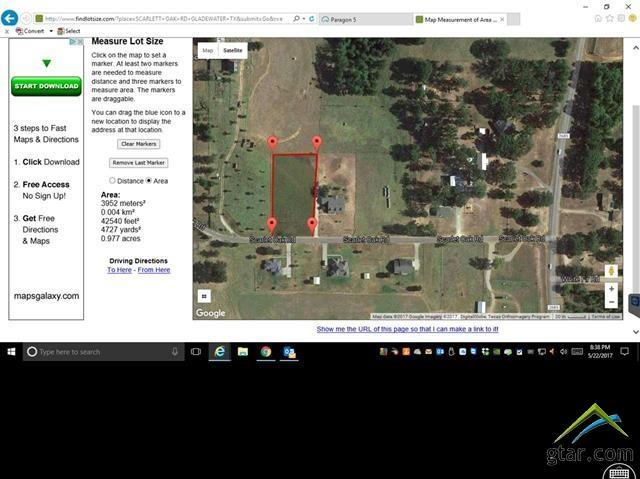 TBD Scarlet Oak Road, Gilmer, TX 75644 (MLS #10086780) :: RE/MAX Professionals - The Burks Team
