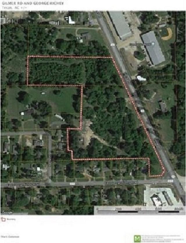 TBD Corner George Rickey & Gilmer Rd, Longview, TX 75605 (MLS #10101712) :: RE/MAX Professionals - The Burks Team