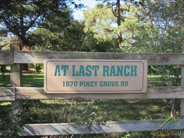 1570 Piney Grove Road, Gallatin, TX 75764 (MLS #10115356) :: The Wampler Wolf Team