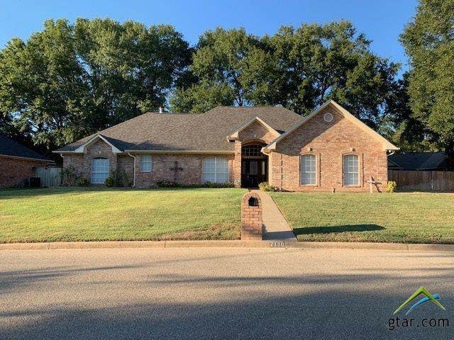 2110 Baylor Dr, Jacksonville, TX 75766 (MLS #10115775) :: RE/MAX Professionals - The Burks Team