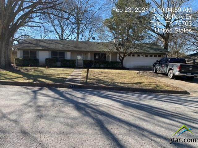 725 Jeffery Lane, Tyler, TX 75703 (MLS #10131666) :: Griffin Real Estate Group