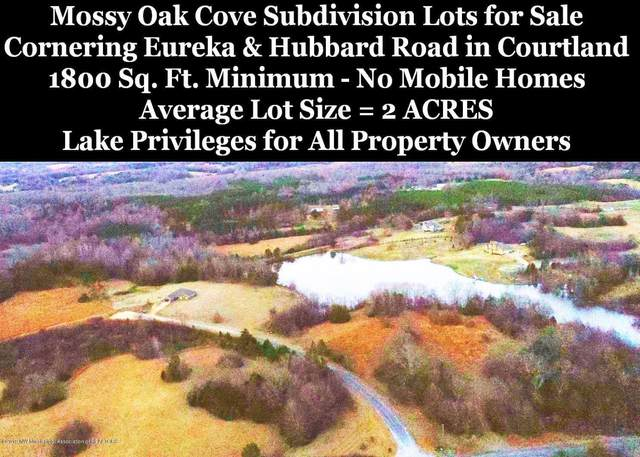 Lot 19 Mossy Cove, Courtland, MS 38620 (MLS #2321307) :: Burch Realty Group, LLC