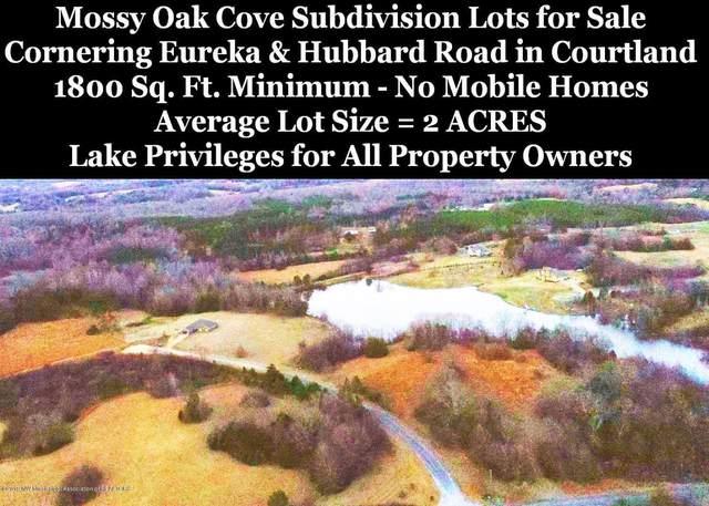 Lot 25 Oak Cove, Courtland, MS 38620 (MLS #2321311) :: Burch Realty Group, LLC