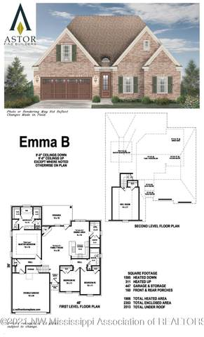 4940 Reunion Bend, Walls, MS 38680 (MLS #2337395) :: Your New Home Key