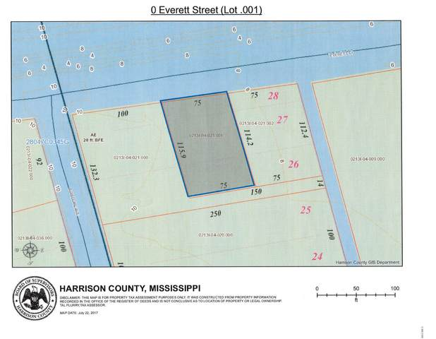 0 Everett Street (.001), Pass Christian, MS 39571 (MLS #3322900) :: The Demoran Group at Keller Williams