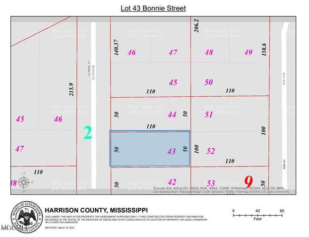 0 Bonnie Street, Gulfport, MS 39503 (MLS #3372674) :: Berkshire Hathaway HomeServices Shaw Properties