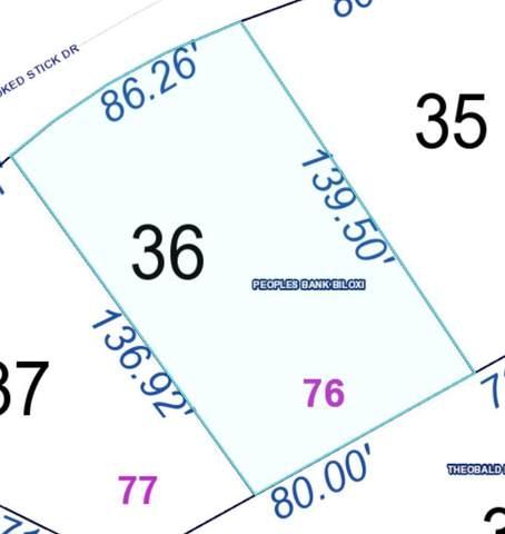 Lot 76 Crooked Stick, Diamondhead, MS 39525 (MLS #3373782) :: Berkshire Hathaway HomeServices Shaw Properties