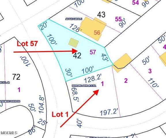 Lot 57 & 1 Chapman Drive, Bay Saint Louis, MS 39520 (MLS #3375251) :: Berkshire Hathaway HomeServices Shaw Properties