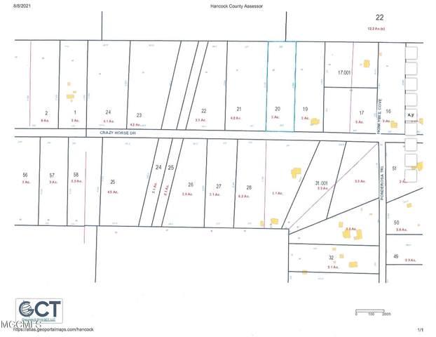 Lot 20 Crazy Horse Drive, Kiln, MS 39556 (MLS #3378682) :: Berkshire Hathaway HomeServices Shaw Properties