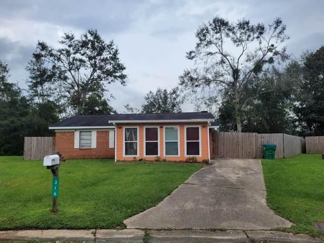 316 Kimberly Drive, Gulfport, MS 39503 (MLS #4000263) :: Berkshire Hathaway HomeServices Shaw Properties