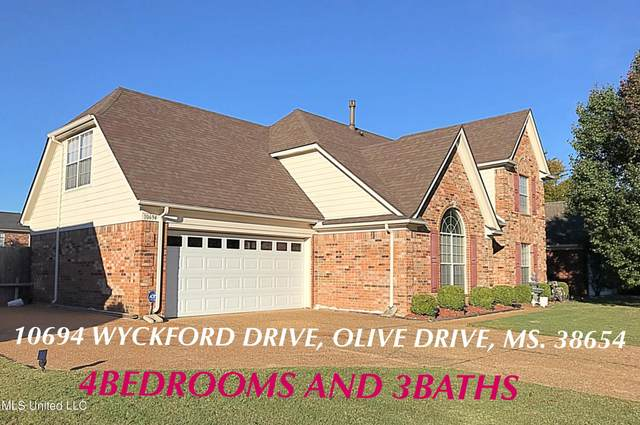 10694 Wyckford Drive, Olive Branch, MS 38654 (MLS #4001304) :: Signature Realty