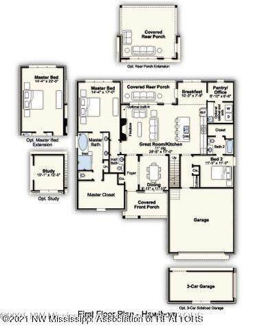 6615 S Briar Lane, Olive Branch, MS 38654 (MLS #2337275) :: The Justin Lance Team of Keller Williams Realty