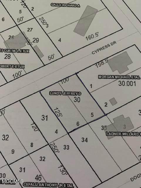 0 Cypress Drive, Kiln, MS 39556 (MLS #3379406) :: Berkshire Hathaway HomeServices Shaw Properties