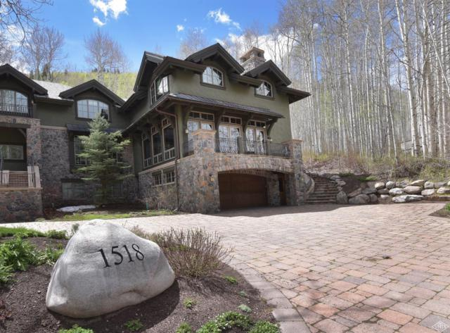 1518 Spring Hill Lane W, Vail, CO 81657 (MLS #928921) :: Resort Real Estate Experts