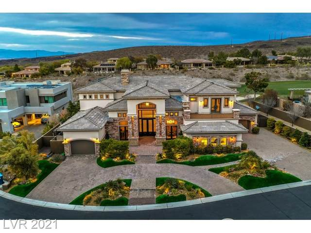 8 Paradise Valley Court, Henderson, NV 89052 (MLS #2210114) :: Signature Real Estate Group