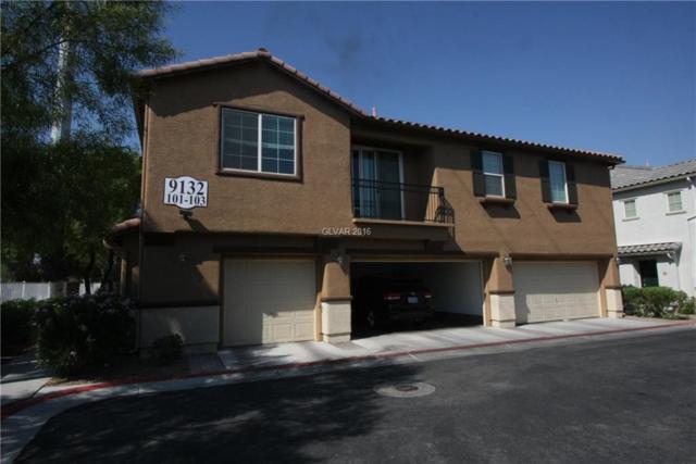 9132 Ripple Ridge #101, Las Vegas, NV 89149 (MLS #1829020) :: Trish Nash Team