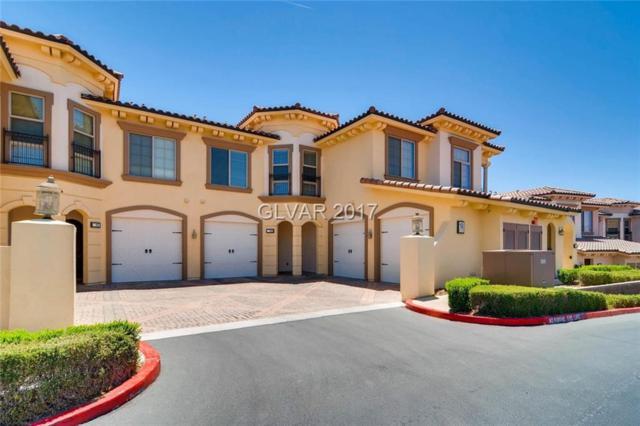 18 Via Vasari #103, Henderson, NV 89011 (MLS #1907681) :: Signature Real Estate Group