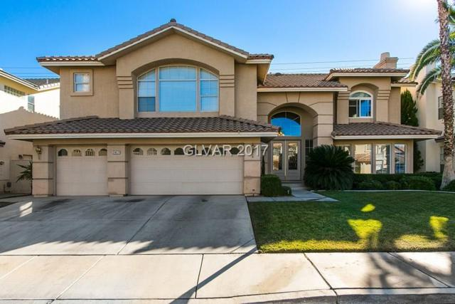 2417 Tour Edition, Henderson, NV 89074 (MLS #1908361) :: The Snyder Group at Keller Williams Realty Las Vegas