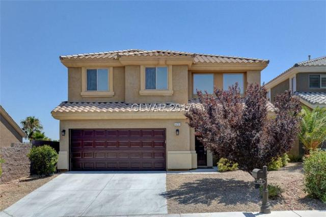 470 First On, Las Vegas, NV 89148 (MLS #1911748) :: Realty ONE Group